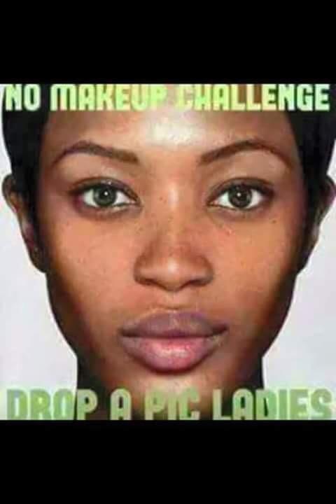 No Makeup Challenge Meme | Saubhaya Makeup